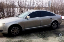 На Павлоградщине остановили автомобиль с «перебитыми» номерами