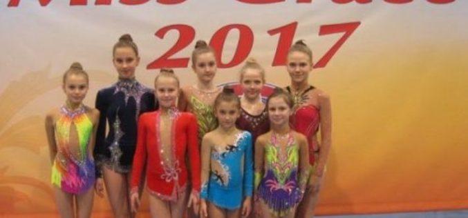 Гимнастки из Павлограда привезли в родной город три «серебра»