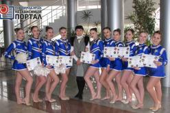 Воспитанники Татьяны Рябчук стали чемпионами и призерами Чемпионата Украины по черлиденгу