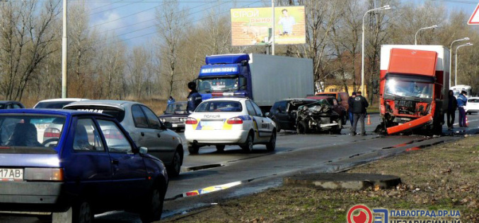 В Павлограде крупная авария: 2 человека в больнице (ФОТО)