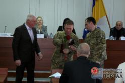 Павлоградские военные получили награды за заслуги перед Родиной
