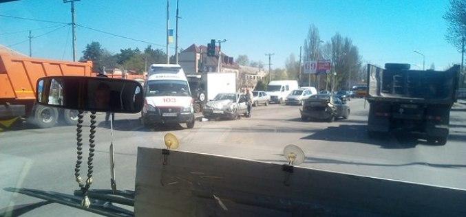 ДТП в Павлограде. Есть пострадавшая