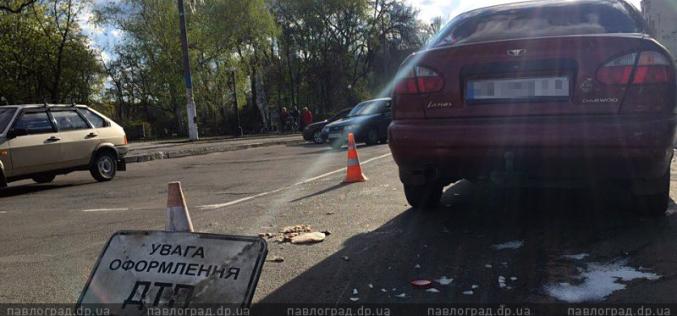 ДТП в центре Павлограда: велосипедистка создала аварийную ситуацию