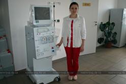Павлограду подарили аппарат для гемодиализа