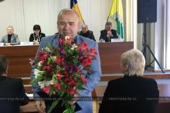 Сергею Олейнику вручили нагрудный знак «За заслуги перед украинским народом»