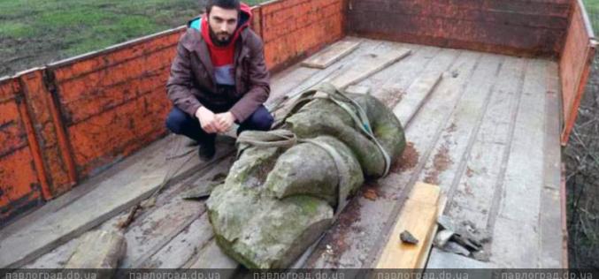 На Павлоградщине обнаружили тысячелетнего половецкого идола (ФОТО и ВИДЕО)