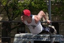 В центре Павлограда спортсмены состязались в «Street Workout»