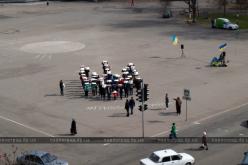 В Павлограде состоялась акция «Тризуб — це Україна» (ФОТО и ВИДЕО)