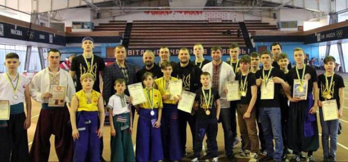 Павлоградцы привезли награды чемпионата по рукопашному бою «Спас»