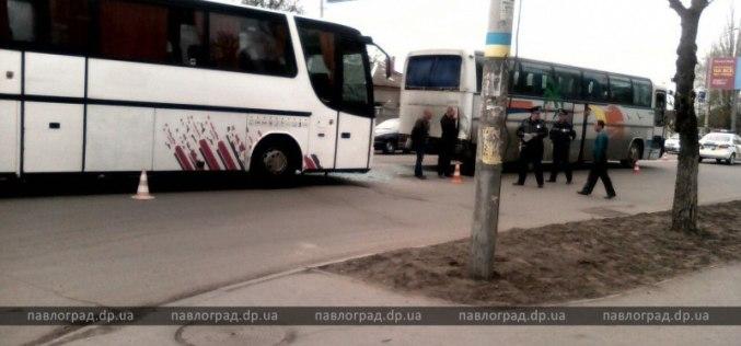 В Павлограде столкнулись два пассажирских автобуса
