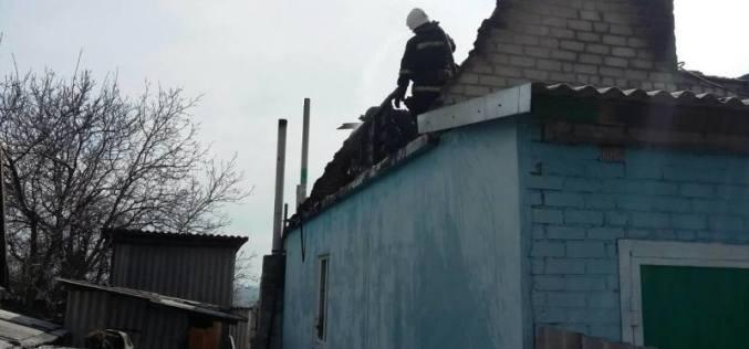 У терновчан сгорела крыша и второй этаж (ФОТО)