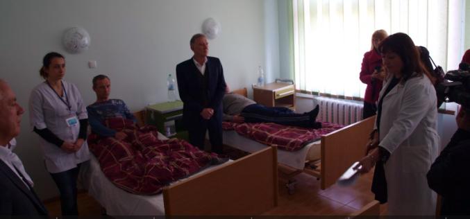 В Павлограде презентовали отремонтированную палату хирургии (ФОТО)