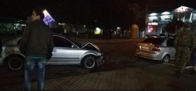 В ДТП в центре Павлограда: пострадала девушка и четыре авто