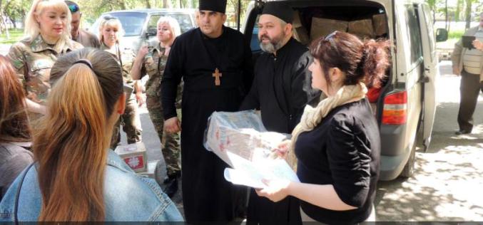 Закарпатские волонтеры привезли помощь павлоградским переселенцам
