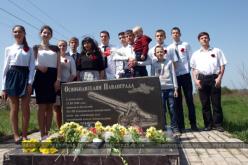 Несколько поколений встретились возле памятника «Освободителям Павлограда» (ФОТО И ВИДЕО)