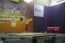 Павлоградский тяжелоатлет стал серебряным призером Универсиады Украины
