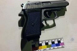 Павлоградские полицейские изъяли у водителя мопеда боевой пистолет