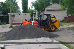 В Павлограде начали капитальный ремонт внутриквартальной дороги (ФОТОРЕПОРТАЖ)