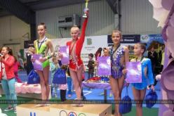Павлоградки привезли набор медалей Всеукраинского турнира по художественной гимнастике