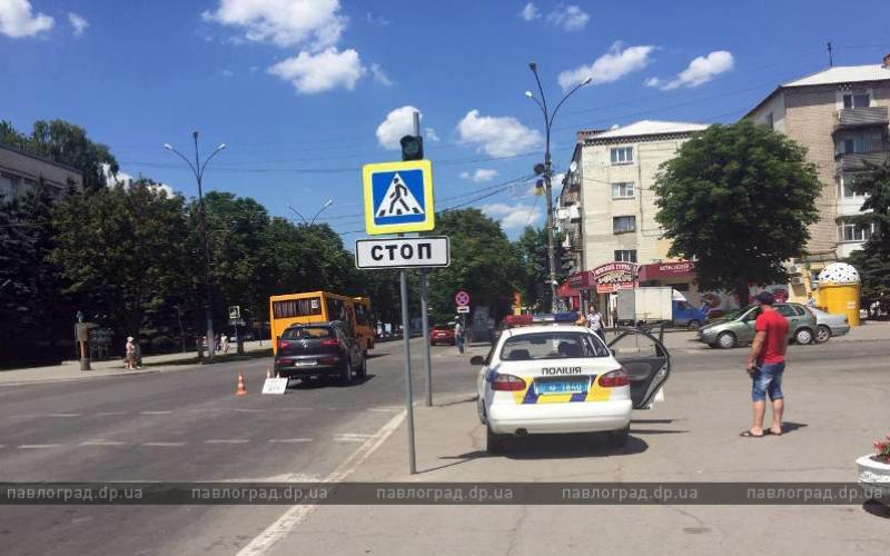 В Павлограде произошло два ДТП с «двухколесными» (ФОТО)