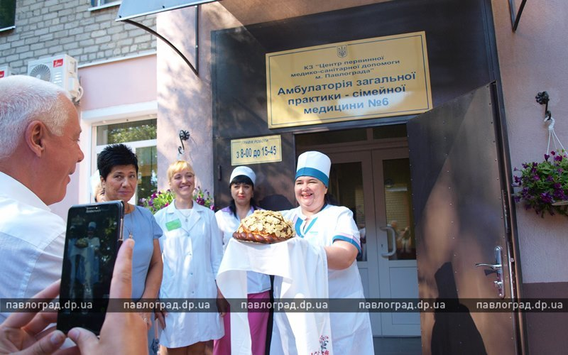 У жителей поселка РТС появилась амбулатория (ФОТО)