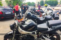 Павлоградские байкеры провели мотопробег в поддержку пострадавших в ДТП (ФОТО и ВИДЕО)