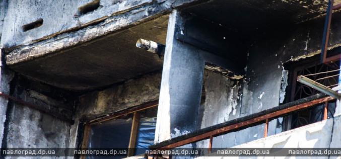 В Павлограде начался ремонт взорванного дома (ФОТО)