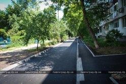 В Павлограде показали, как должен выглядеть капремонт внутридворовой дороги