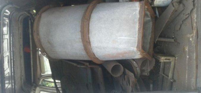В Павлограде автомобиль перевозил тонну металлолома без документов