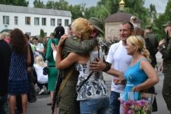 В Павлограде нацгвардейцы присягнули на верность украинскому народу