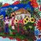 Парк Павлограда украсила петриковская роспись (ФОТО)