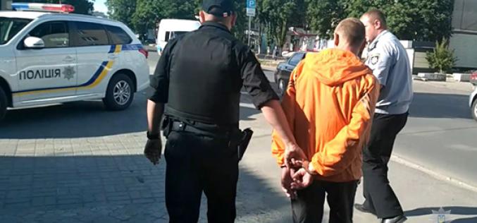 В Павлограде задержали грабителя, который выхватил телефон у 11-летней девочки