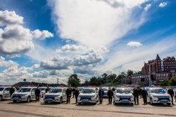 Полиция Павлограда и Терновки получила современные электромобили