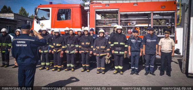 Павлоградские спасатели теперь ездят на новом «МАЗе»