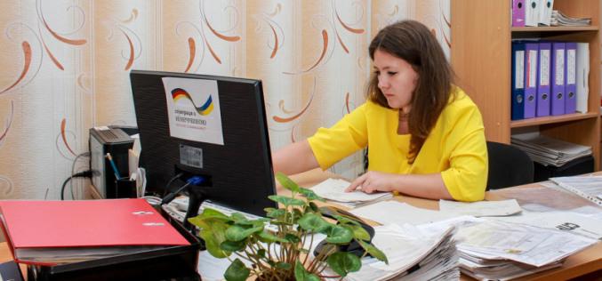 Управлению соцзащиты населения Павлограда подарили новую компьютерную технику