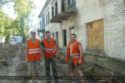 В Павлограде заброшенное здание превращают в общежитие для переселенцев (ФОТО)