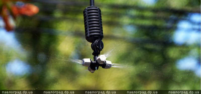 В Павлограде в парке сделали «систему охлаждения» (ФОТОФАКТ)