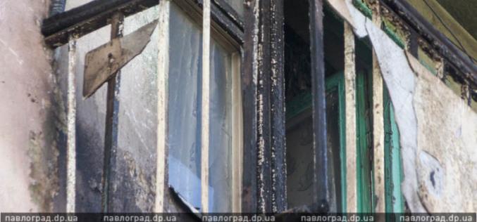 Окурок стал причиной шока пенсионерки и возгорания балкона? (ФОТО)