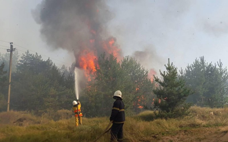 Из-за пожара у женщины чуть не случился инсульт
