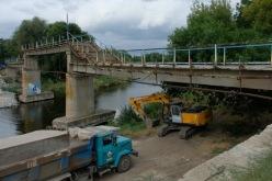 Мост через Волчью станет безопасным и удобным (ФОТО и ВИДЕО)