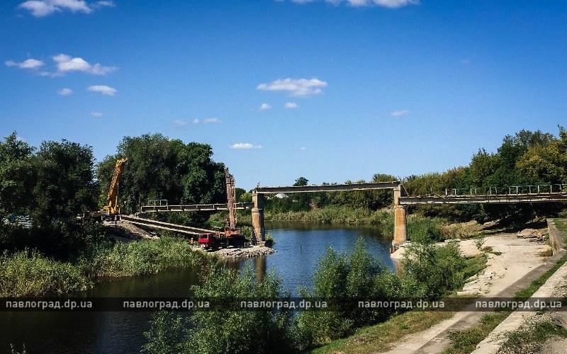 В Павлограде начали демонтировать пролеты моста (ВИДЕО)