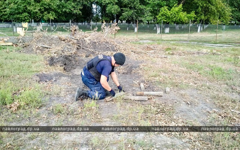 Эхо войны: на Павлоградщине обнаружили 11 снарядов (ФОТО)