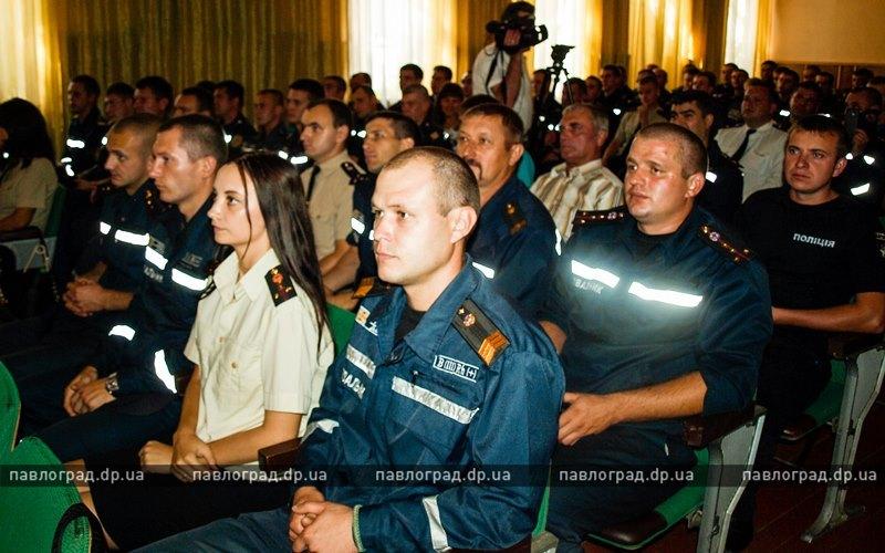 Павлоградской службе спасения исполнилось 155 лет
