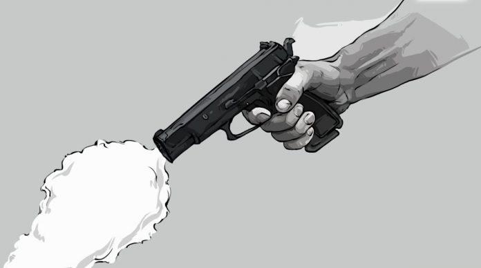 Дорожная ссора со стрельбой