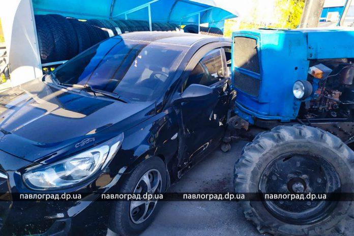 В Павлограде на заправке произошло ДТП